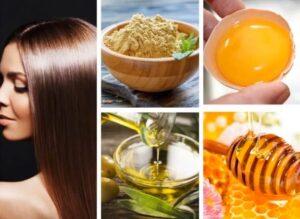خلطات لتكثيف الشعر الخفيفمجربة
