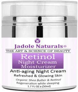 كريمجادول ناتشورالز بالريتينول وزبدة الشياJadole Naturals Beauty Retinol Moisturizer Night Cream