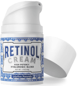 مرطب كريمي بالريتينول من ليليانا ناتشورالزLilyAna Naturals Retinol cream Moisturizer