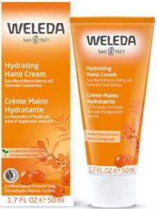 كريم مرطب لليدين شديدة الجفاف Weleda Sea Buckthorn Hand Cream
