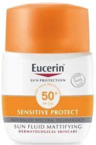 واقي شمس يوسيرين للبشرة المختلطة Eucrein sun fluid sensitive
