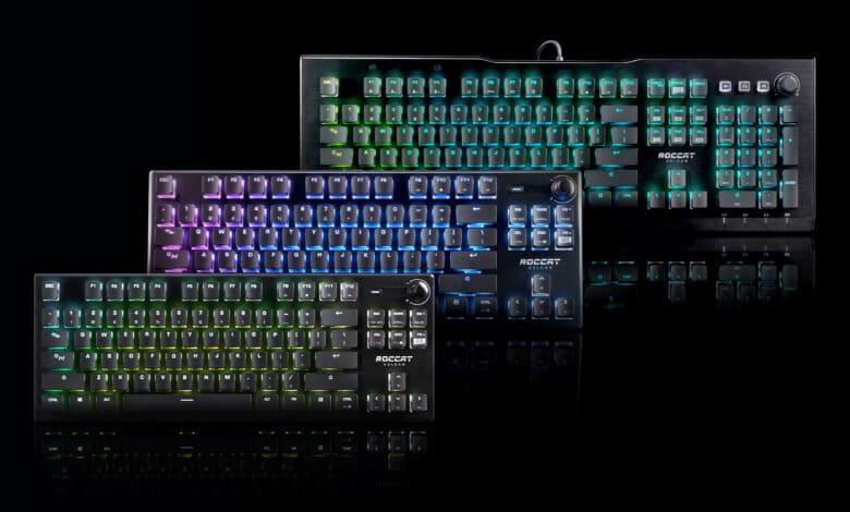 neue tastaturen mit optischen schaltern