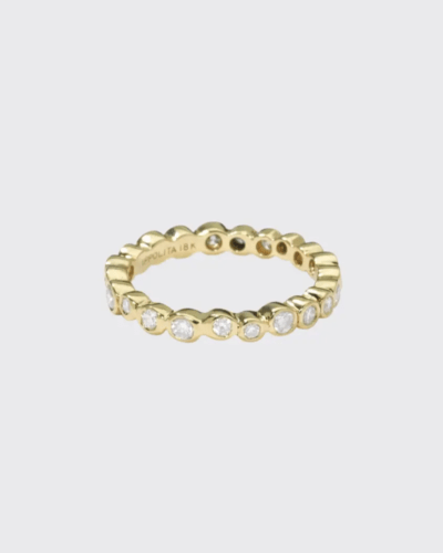 IPPOLITA  18K Gold Band Ring with Diamonds  $2,900