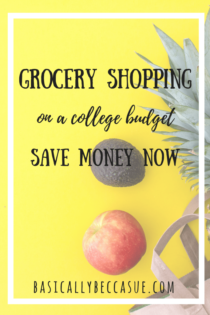 Grocery Shopping on a college budget