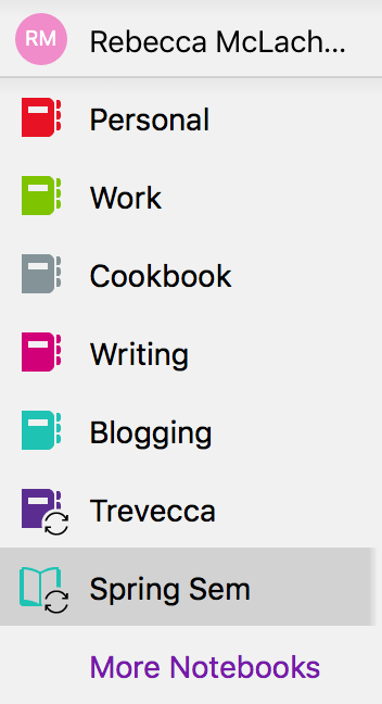 get organized for online classes with OneNote