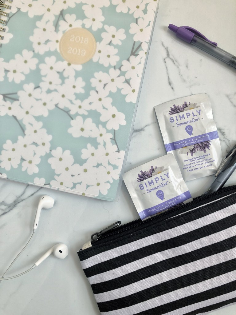 Keeping fresh on the go with Summer's Eve