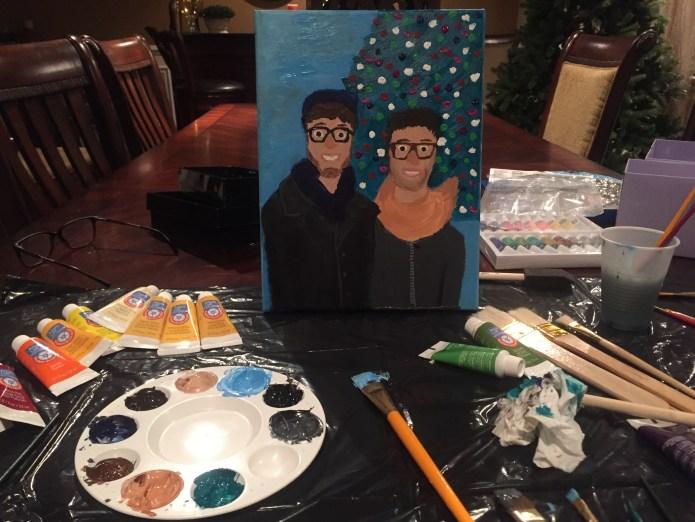 LGBT Gay Boyfriend Painting