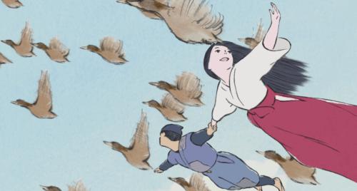 kaguya flying