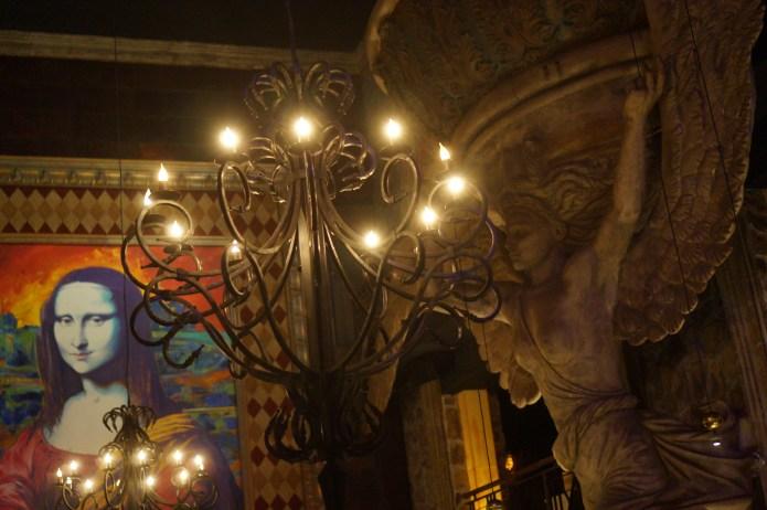 Sculptures at La Madonna