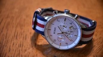 Burei watch with Barton Bands NATO Strap