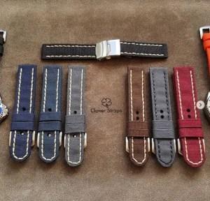 Clover Straps Rolled Cordura Watch Straps