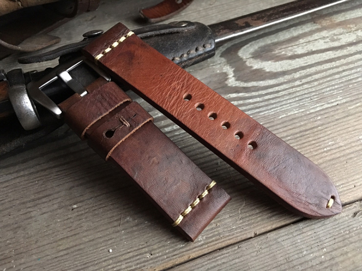 Vintage Ammo Watch Strap by the StrapSmith