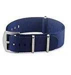 Blueshark Premium Nylon NATO Strap - Blue