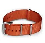 Blueshark Premium Nylon NATO Strap - Orange
