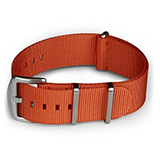 Blueshark Premium Nylon NATO Strap - Orange