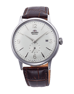 Orient Bambino Small Seconds - White Dial - SS Case Model Number RN-AP0002S10A