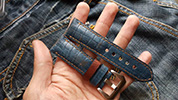 Two One Four Straps - Blue Watch strap