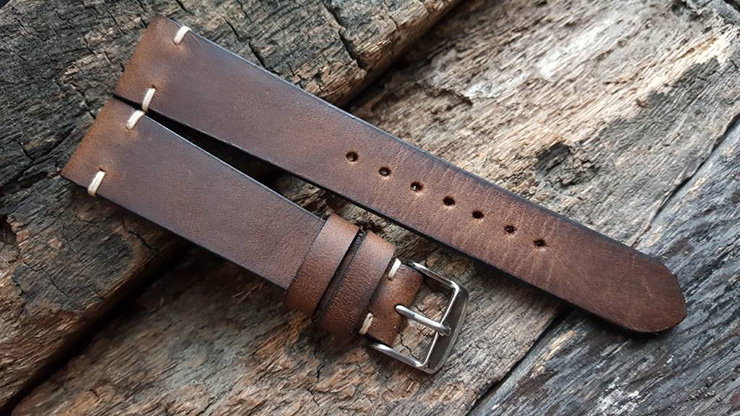 Two One Four Straps - Crazy Horse Watch Strap
