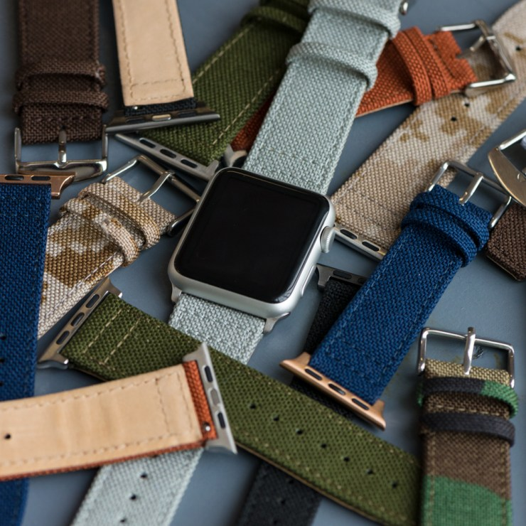 Cordura Apple Watch Strap by Clockwork Synergy