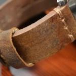 Heavy duty watch strap by custom strap maker Mansarea in Spain