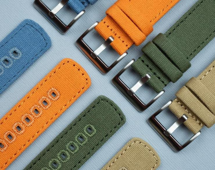 Barton Bands Canvas Quick-Release Strap Colors