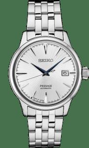 Seiko Presage Cocktail Time SRPB77 White Dial - Blue Hands