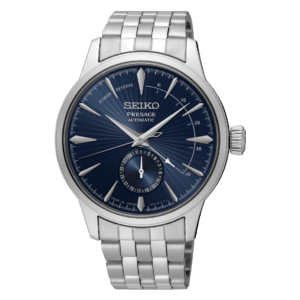 Seiko Presage Cocktail Time - Blue Moon - Blue Dial - Bracelet - Power Reserve -SSA347J1