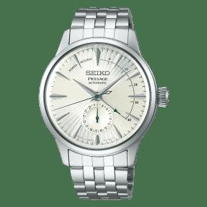 Seiko Presage Cocktail Time - Martini - White Dial Silver Hands - Power Reserve - SSA341J1