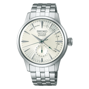 Seiko Presage Cocktail Time - Martini - White Dial Silver Hands - Power Reserve - SSA341J1