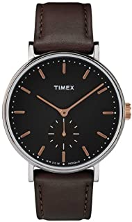 Timex Fairfield Dark Brown dial