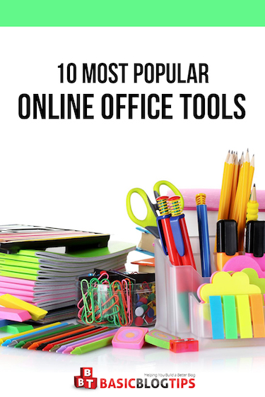 10 Popular Online Office Tools