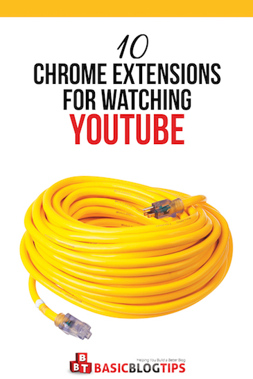 10 Chrome Extension for YouTube