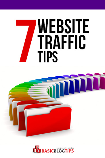 7 Tips to Get More Web Traffic