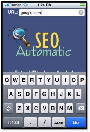 SEO Automatic for iPhone