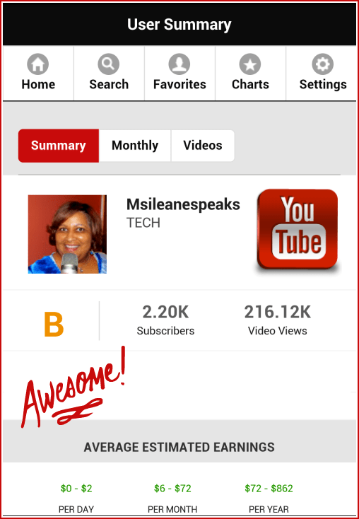 Check your YouTube Channel Performance on Social Blade via @Ileane