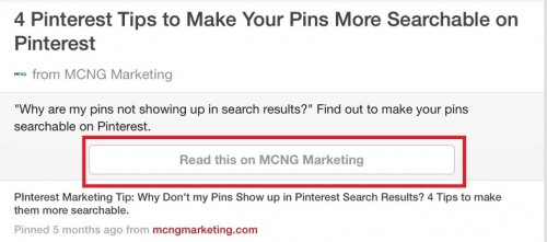 Rich Article Pins for Pinterest