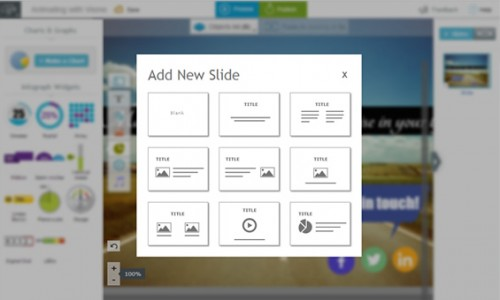 Visme Add Slides
