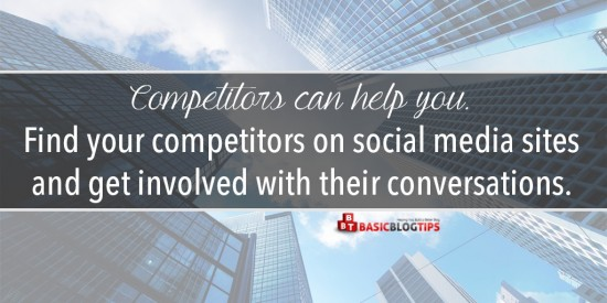 Find Your Competitors on Social Media