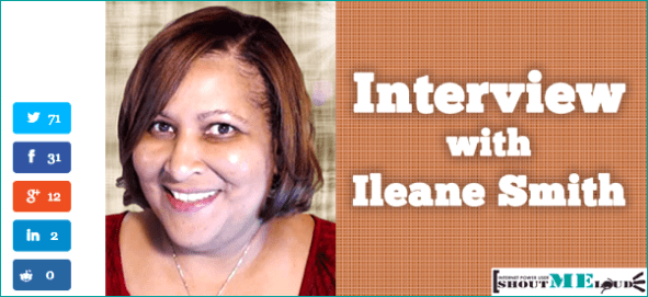 Ileane Smith Interview Gets More Social Shares