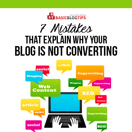 7 Reasons Your Blog Is Not Converting