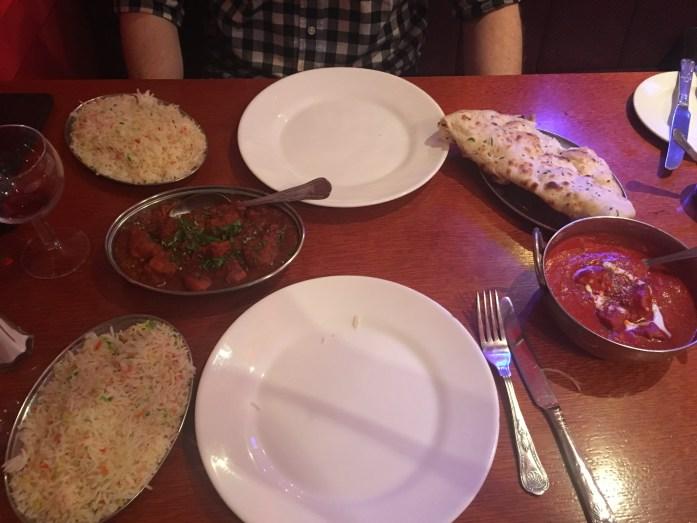 Indian Food Feast on Brick Lane
