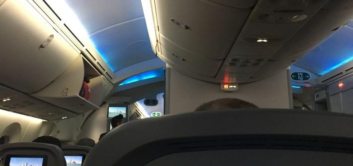 Norwegian 787 Dreamliner budget flight