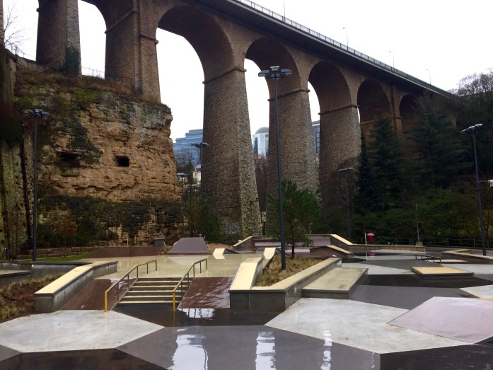 Luxembourg City Skate Park