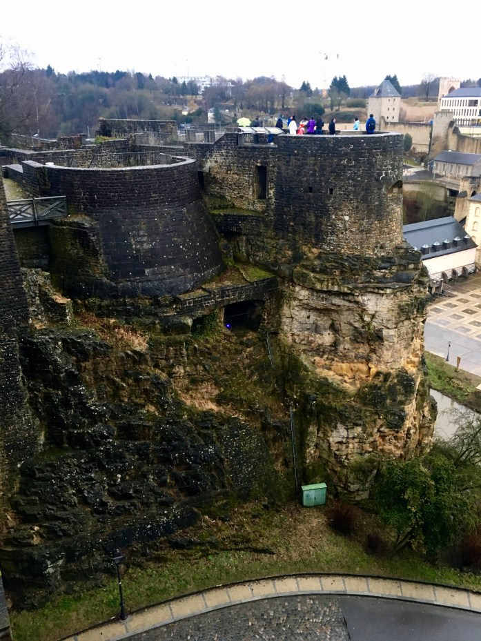Casemates in Luxembourg City