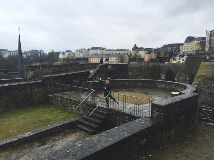 Fun in Luxembourg City