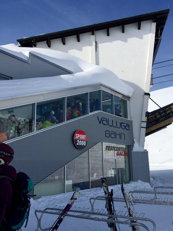 Vallugabahn at St Anton am Arlberg
