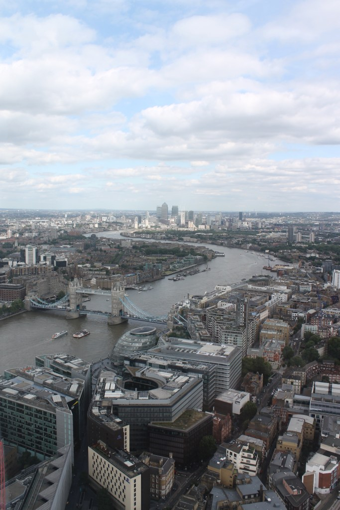 Gluten Free Afternoon Tea in London at The Shard