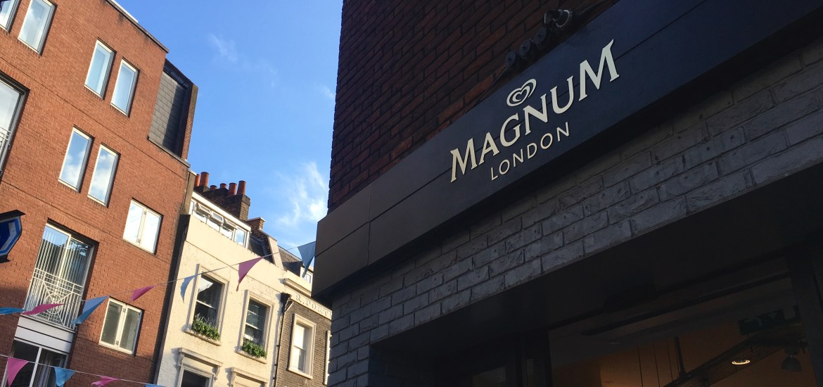 Magnum London Pop Up
