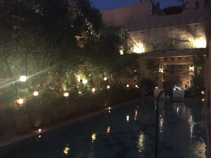 Restaurant Marrakesh at La Maison Arabe, Marrakech, Morocco