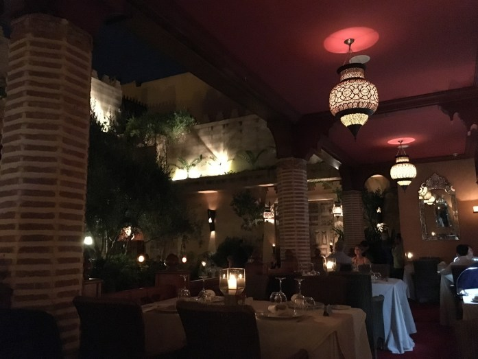 Restaurant Marrakesh at La Maison Arabe, Marrakech, Morocco